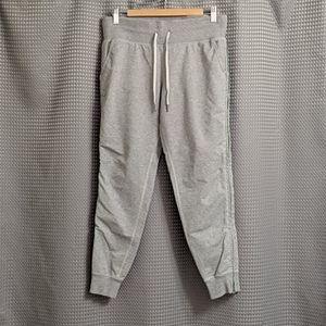 Lululemon No Sweat Pants Joggers Size 8 Grey Green